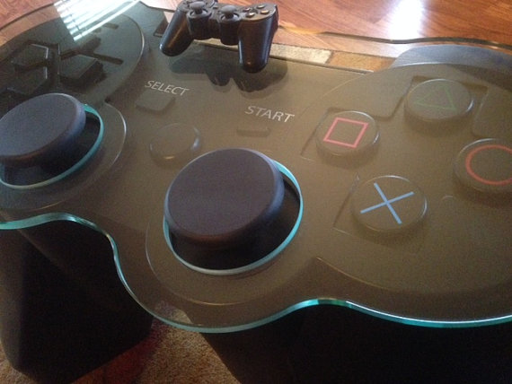 Handmade Game Controller Table Creative Furniture Pinterest