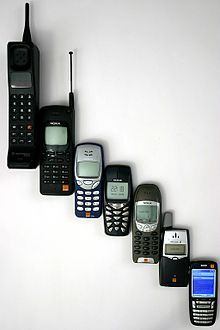 The Birth Of The Mobile Phone No One I Knew Had A - The evolution of the mobile phone perfectly illustrated in one image