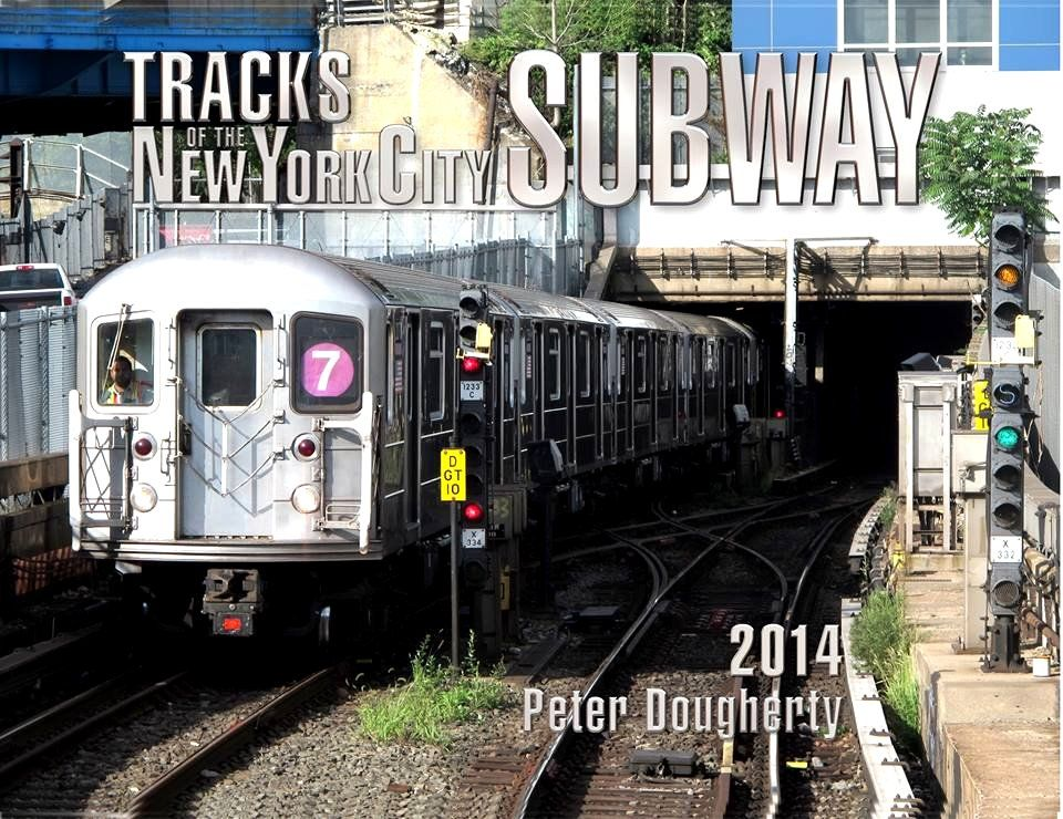 Tracks of the New York City Subway 2014 by Peter Dougherty