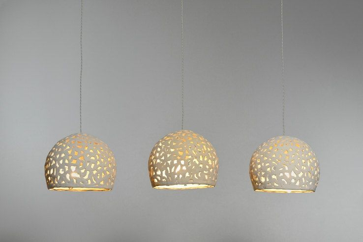 3 Ceramic Hanging Lights Ceiling Light