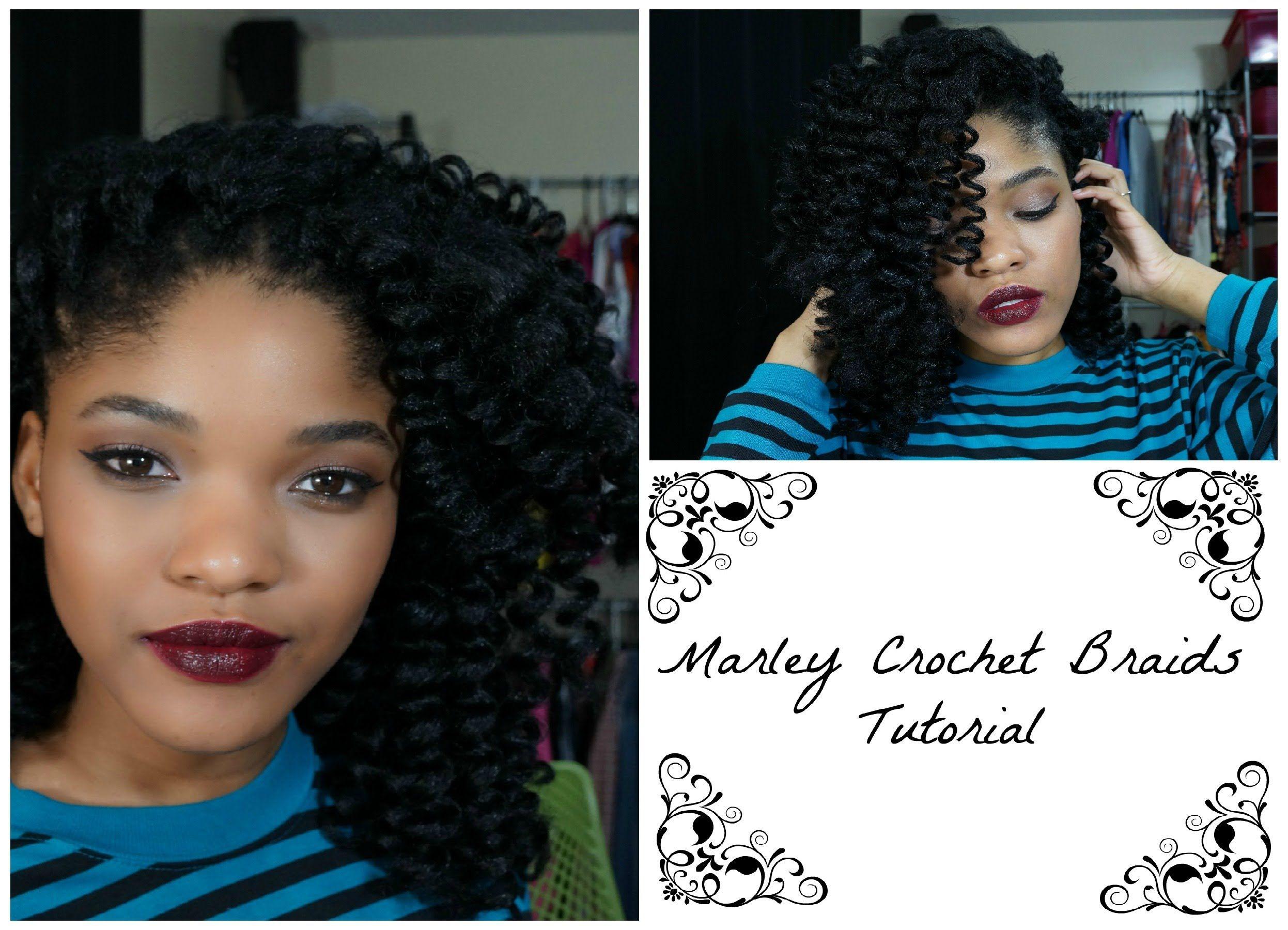 Prime Marley Crochet Braids Tutorial Braids Pinterest Croche Short Hairstyles For Black Women Fulllsitofus