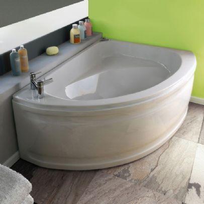 Bathroom Sinks Orlando trojan orlando offset corner bath 199.00 | bathroom | pinterest