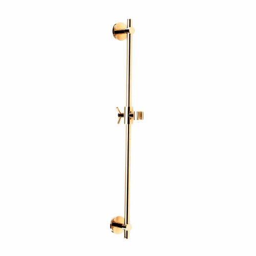 Photo of PVD brass bathroom handheld slide bar high performance brass