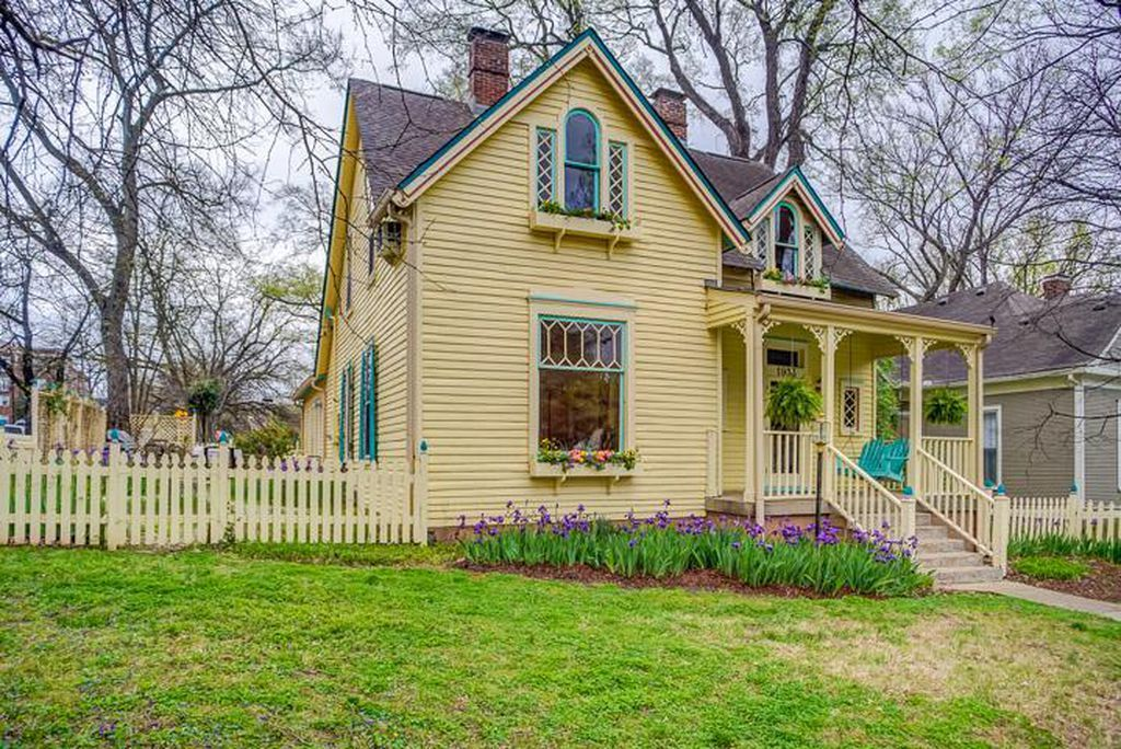 Enchanted Historic 1904 Victorian Cottage Circa Old Houses Old