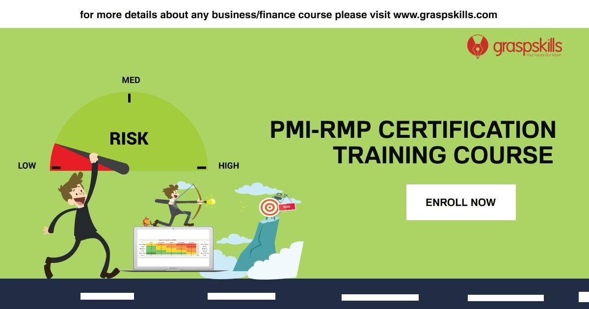 Take The Pmi Rmp Certification Training At Graspskills Find The