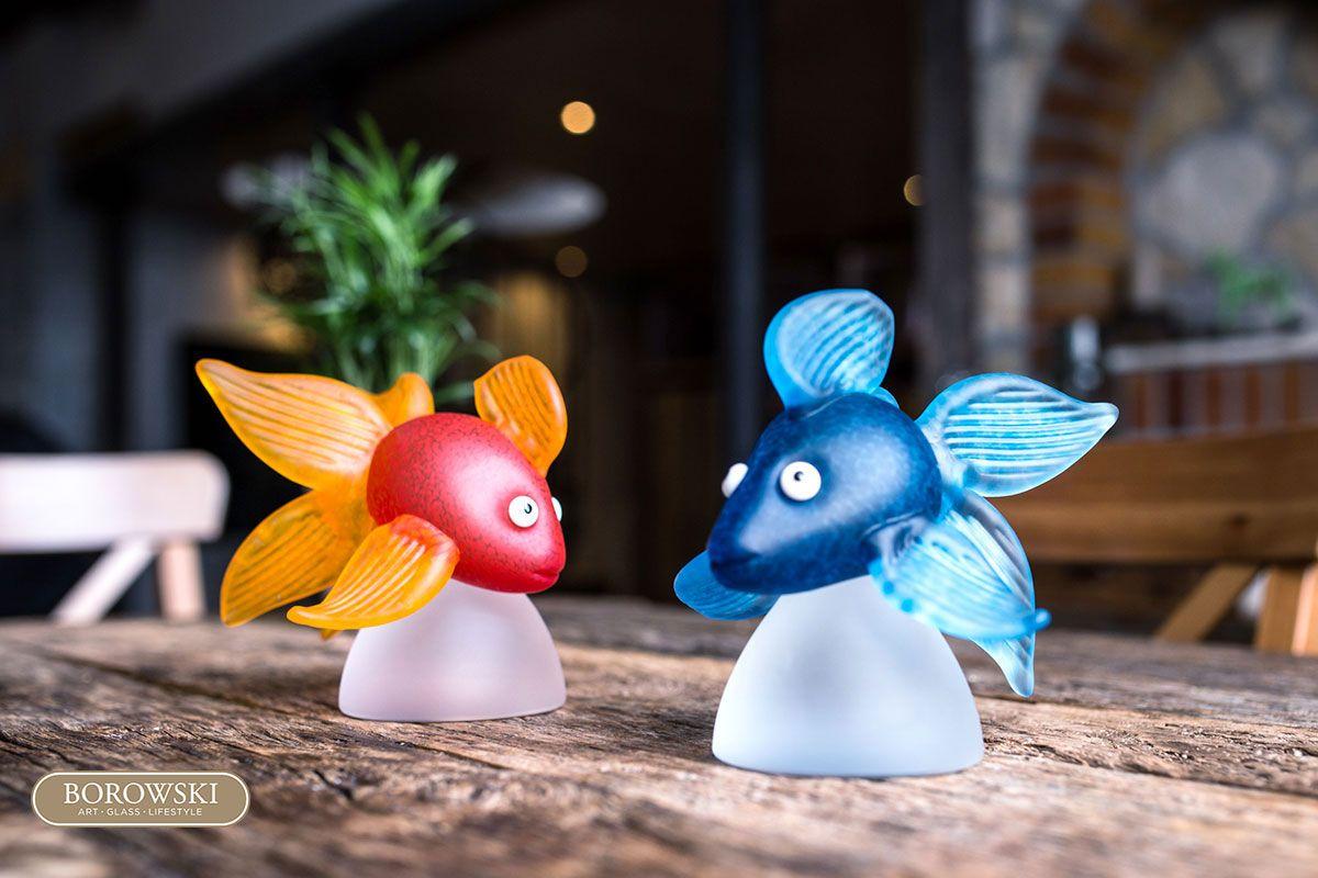 Art Glass Lifestyle Glaskunst Goldfisch