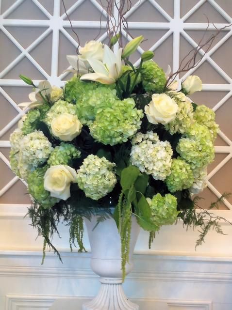 Large Unique Floral Arrangements Arrangement Large Arrangement Featuring Hydrangeas Lilies And