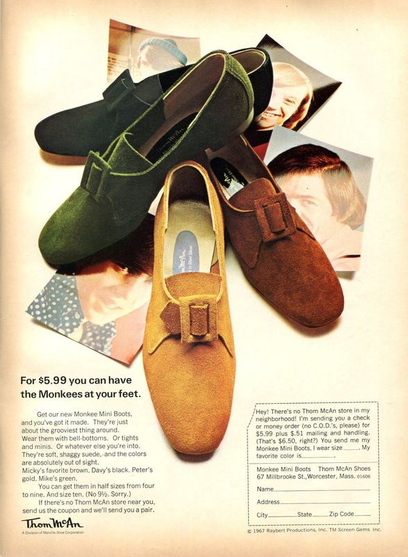 e2ca25846216 Blog - The Monkees Live Almanac I had these! ☺