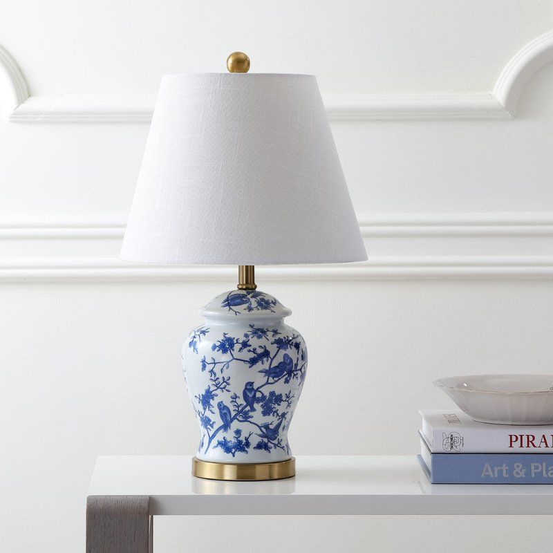 Blue And White Table Lamps Uk, Blue And White Ginger Jar Lamps Uk