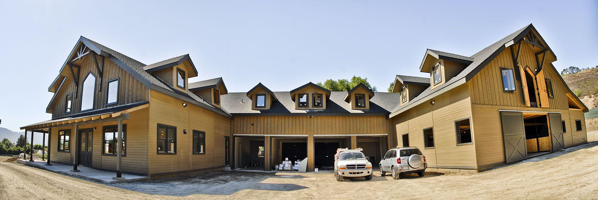 barn house attached | Barndo | Pinterest | Barn, House and Barndominium