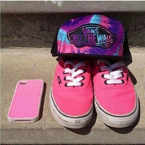 estuche vans rosa