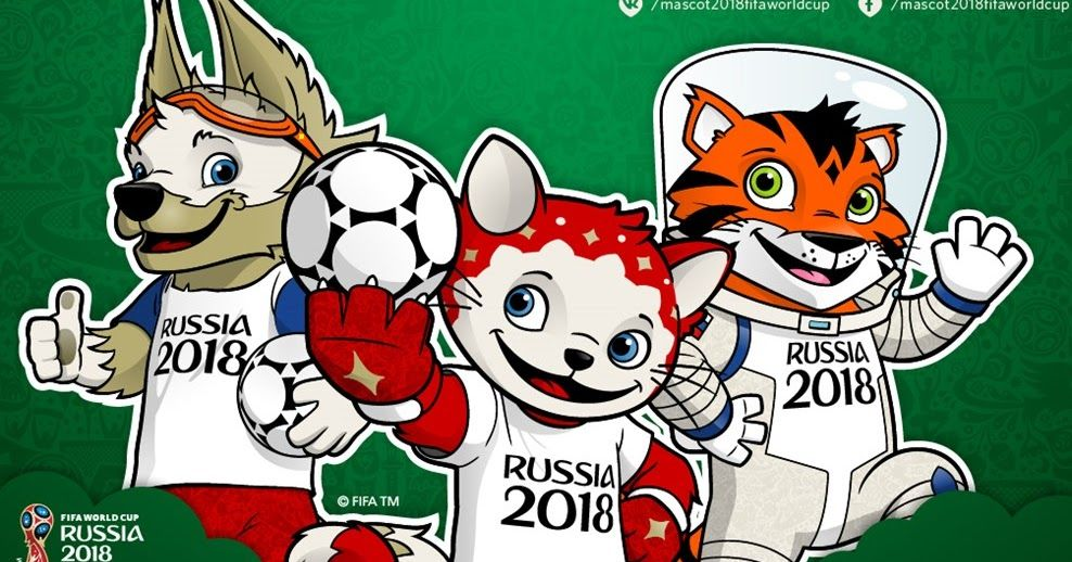 FIFA World Cup 2018 Official Mascot is a Wolf World cup