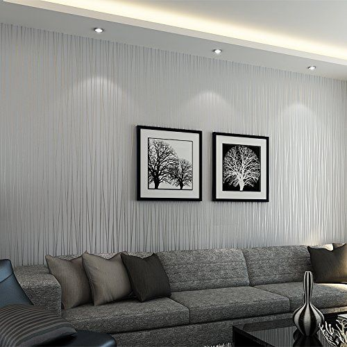 20 Living Rooms With Beautiful Use Of The Color Grey Grey Wallpaper Living Room Wallpaper Living Room Grey Wallpaper Bedroom