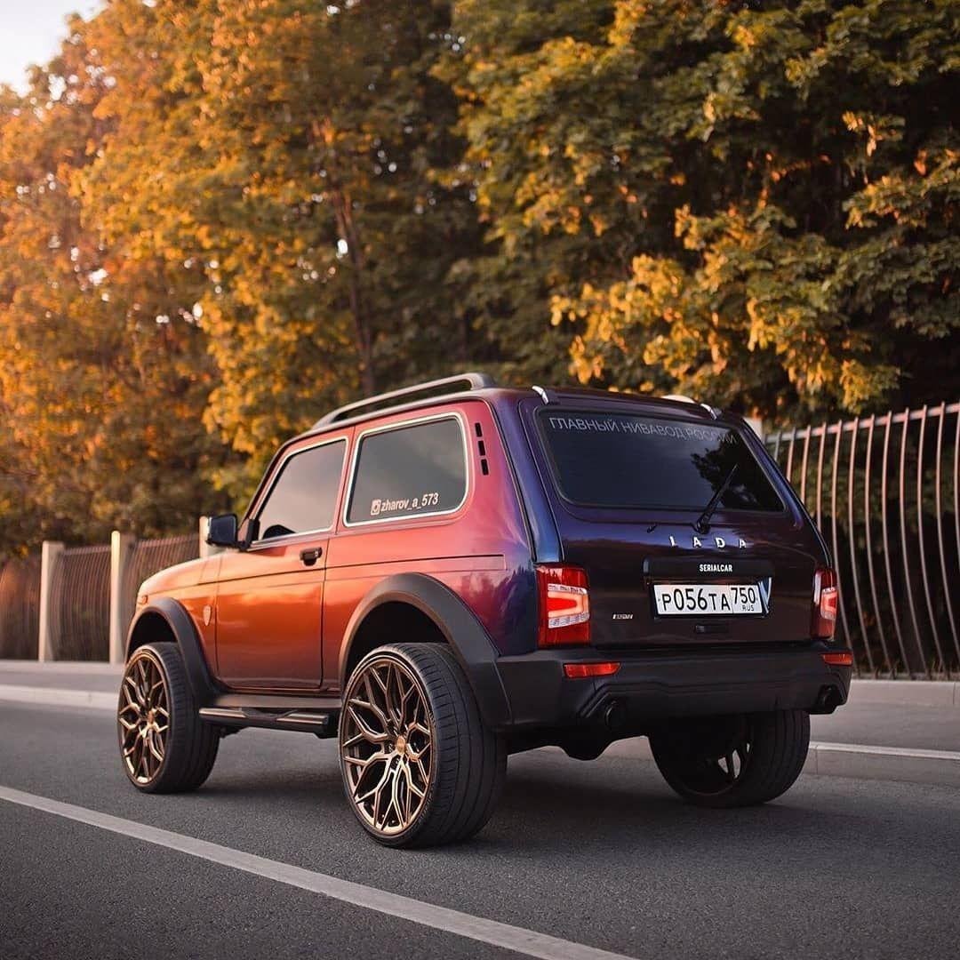 Niva City 4x4 Car 4x4 Gruzoviki Tyuning Avtomobilej Avtomobili