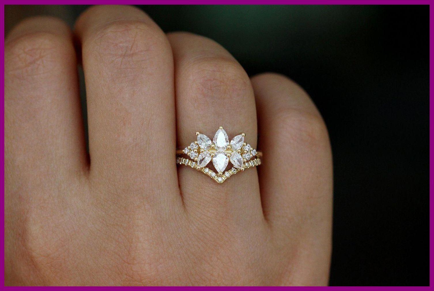 Wedding Rings Vintage Going In Circles Sterling Stacking Ring Sterling Silver Wrap Ring W In 2020 Rose Engagement Ring Unique Engagement Rings 14k Engagement Ring
