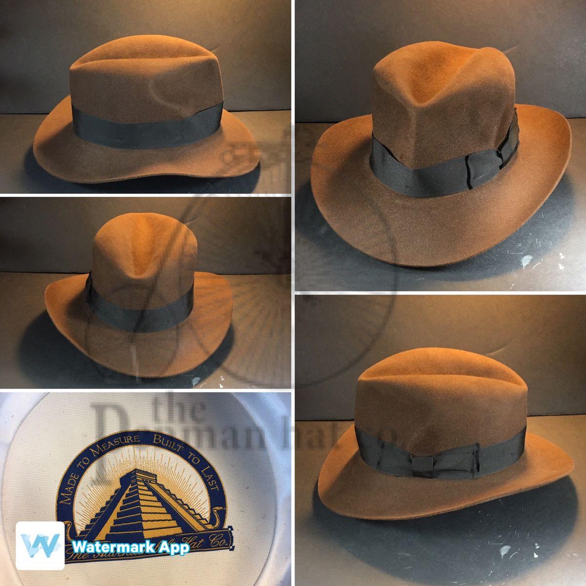 Indiana Jones Hat Hats For Men Bespoke Hats Indiana Jones