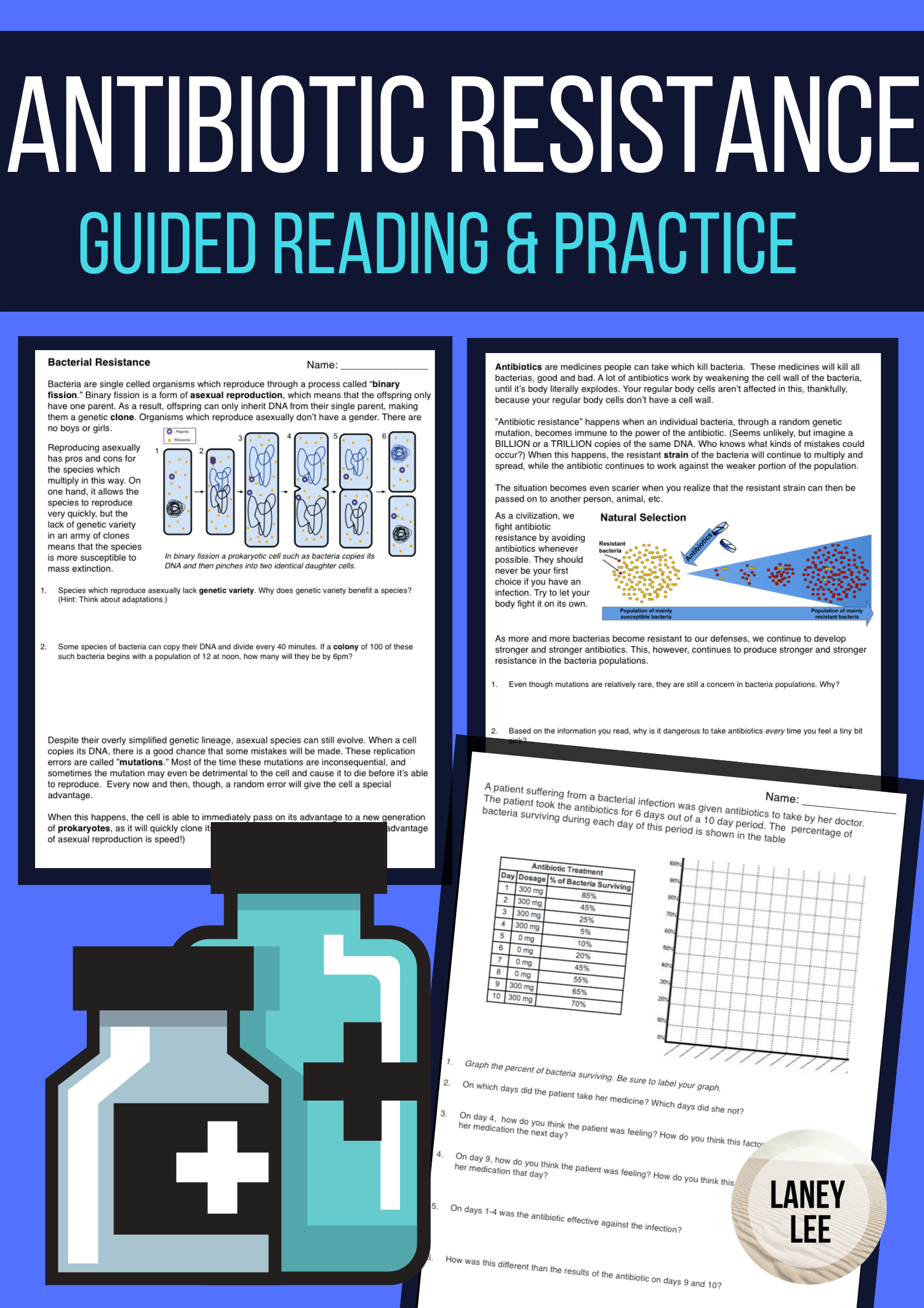 Antibiotic Resistance Guided Reading Guided reading