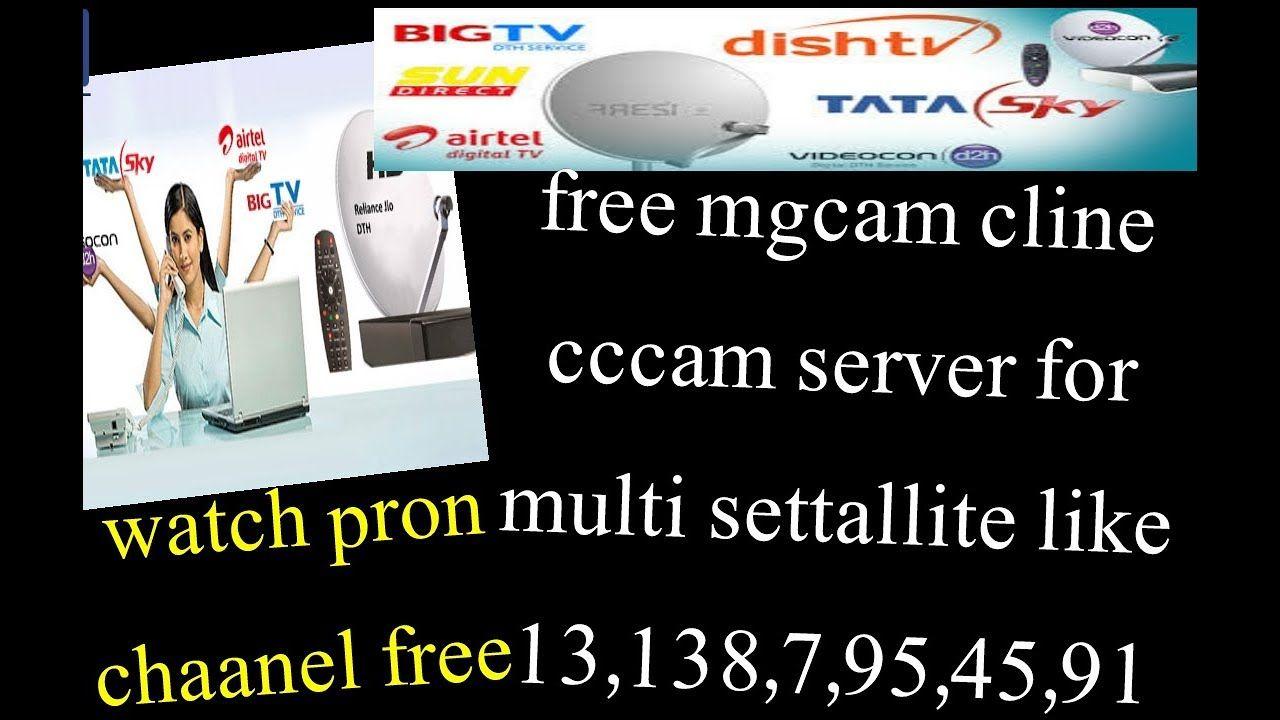 Free dish TV sun DTH all multi settalite cline mgcam server