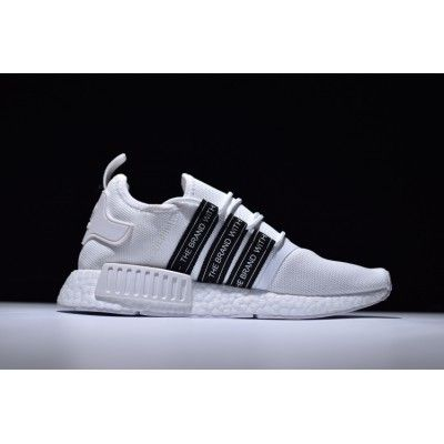 59bdc34b51a Adidas NMD R1 Boost Runner Primeknit White Trainers Best Sale ...