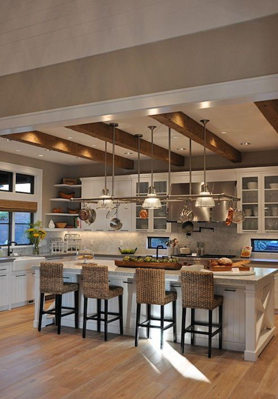 35 Luxury Big Open Kitchen Design Ideas For Home Home Kitchens Kitchen Remodel Kitchen Design