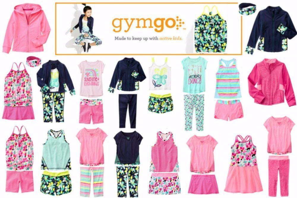 GYMBOREE GYMGO PINK STRIPE w// FLORAL BACK ACTIVE TANK TOP 2T NWT-NWOT