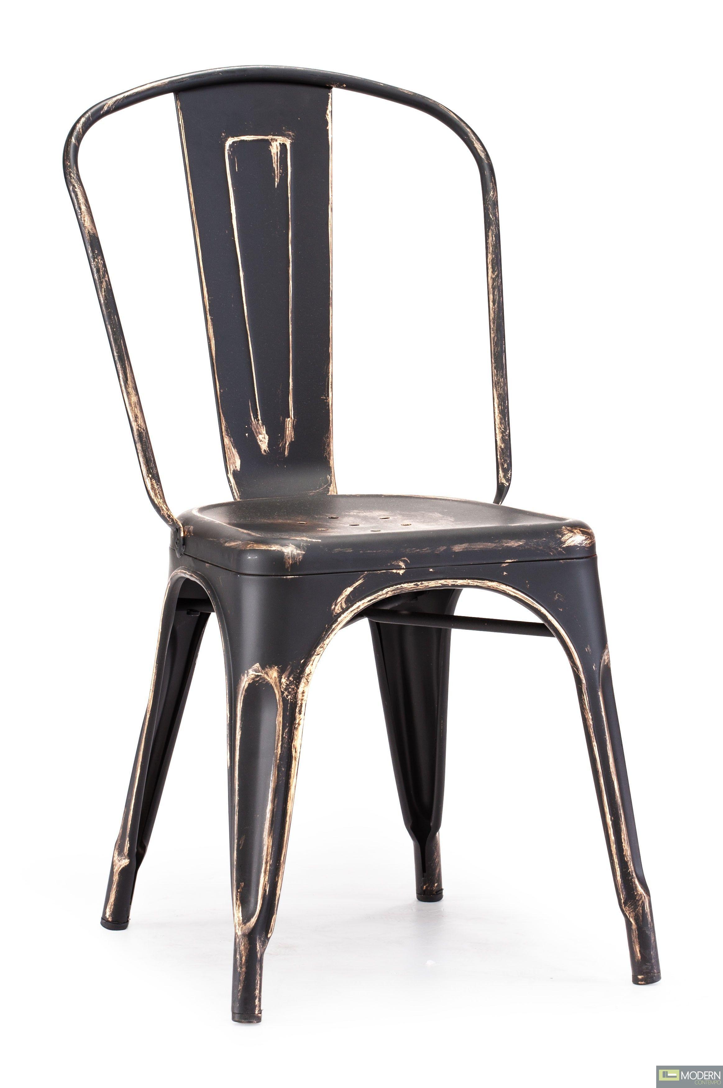 Elio Chair Antique Black Gold Metal Dining Chairs Dining Chairs Dining Chair Set