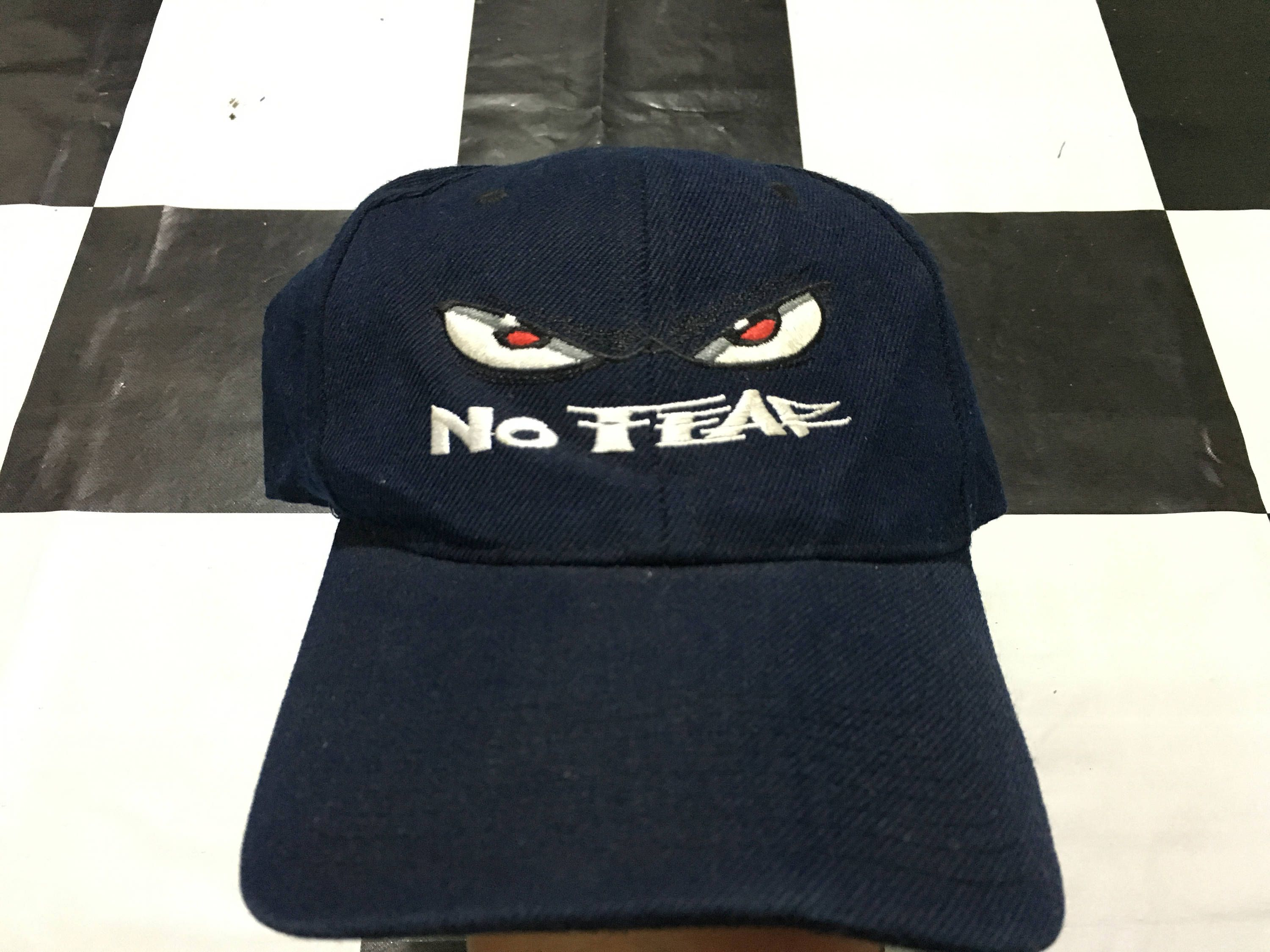 7d80a680331 Vintage No Fear cap embroidered logo strapback cap Good condition by  AlivevintageShop on Etsy