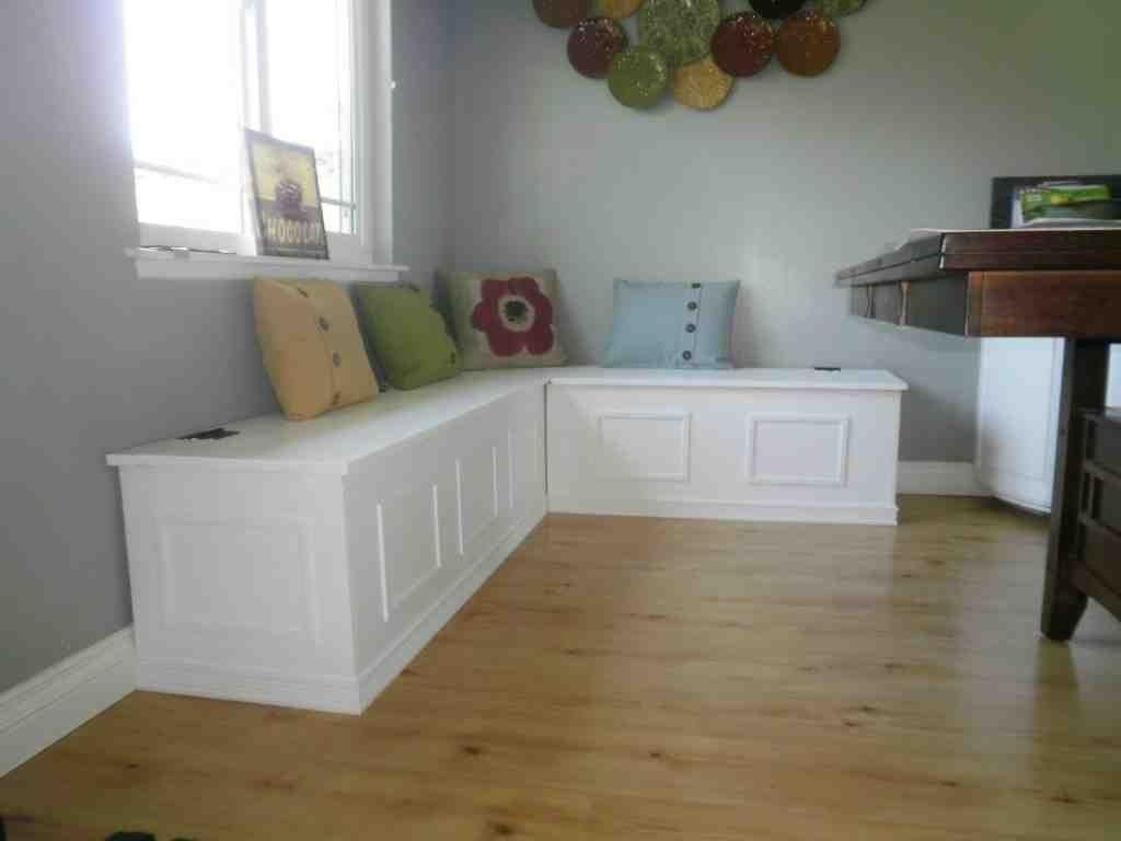 Bench seating for kitchen - Corner Storage Bench Seat Kitchen