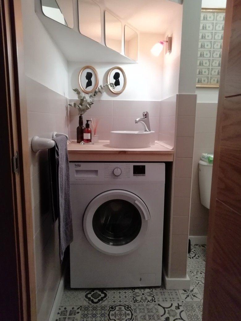 Lavadora Con Lavabo.Lavabo Sobre Lavadora Ideas Para El Hogar Banos Pequenos