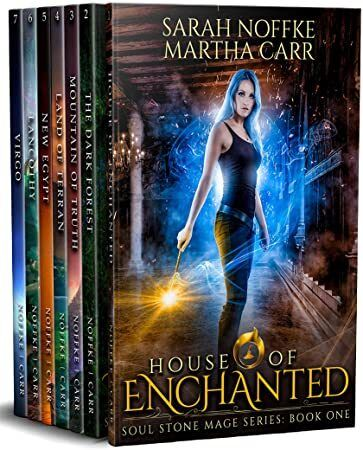 Kindle Soul Stone Mage Complete Collection Boxed Set The entire seven book series