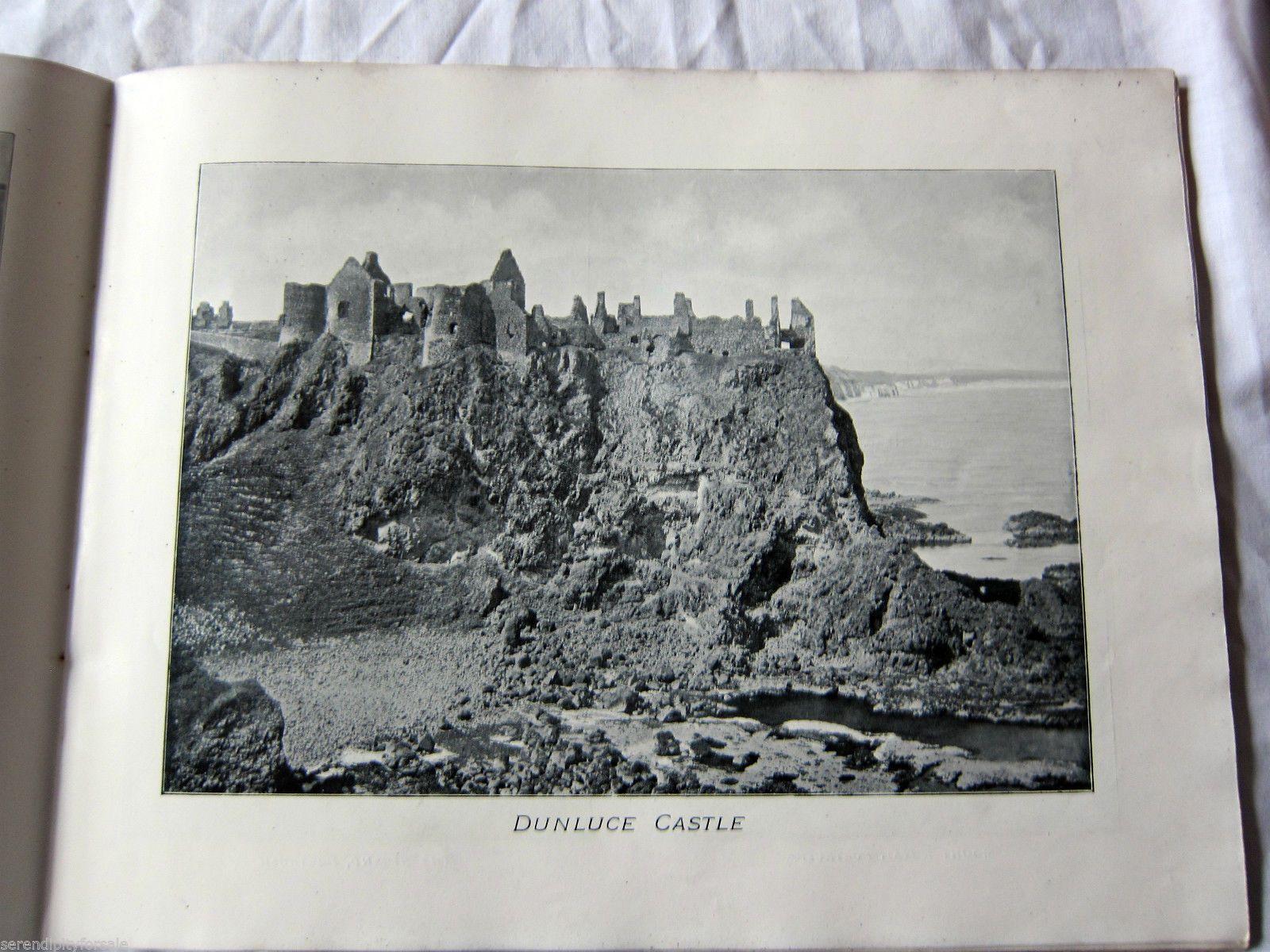 Antique Edwardian The Emerald Isle Album Giant's Causeway Antrim Coast CA 1902   eBay