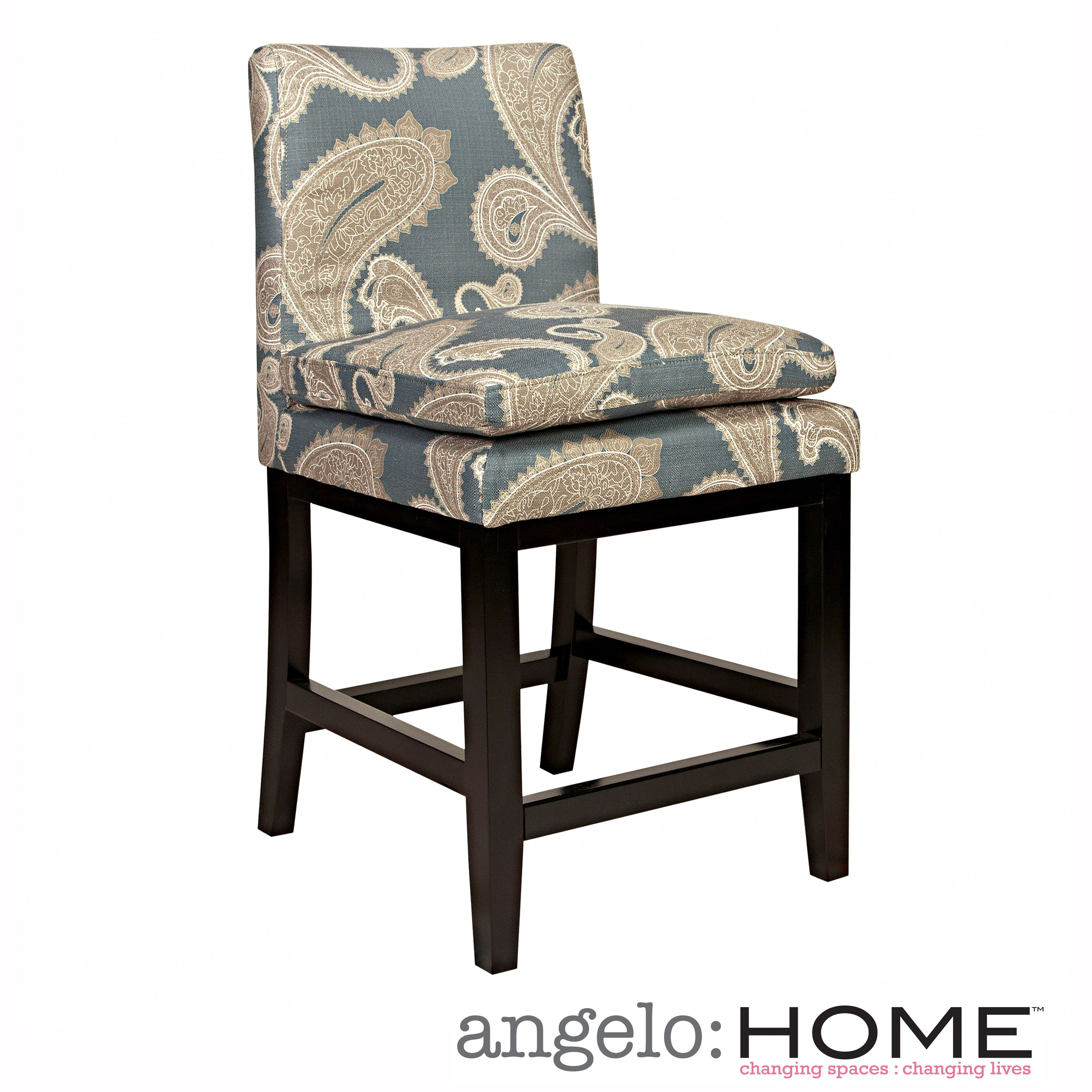 The Angelohome Marnie 23 Inch Barstool Was Designed By Angelo