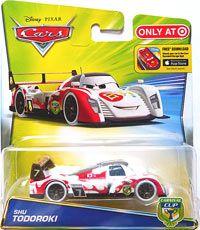 Cars 2016 Shu Todoroki Single Carnival Racer Disney Cars Characters Pixar Cars