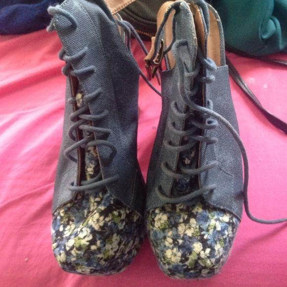 "Spotted while shopping on Poshmark: ""Denim litas""! #poshmark #fashion #shopping #style #Shoes"