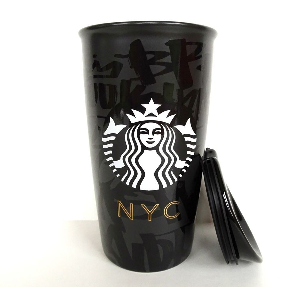 Starbucks Nyc New York City Double Wall Insulated Traveler