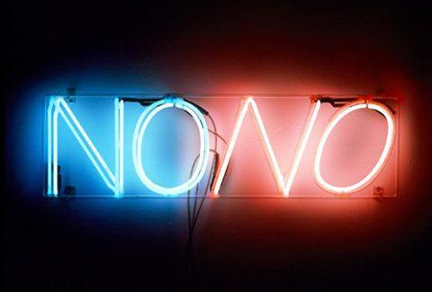 teach me how to say NO.