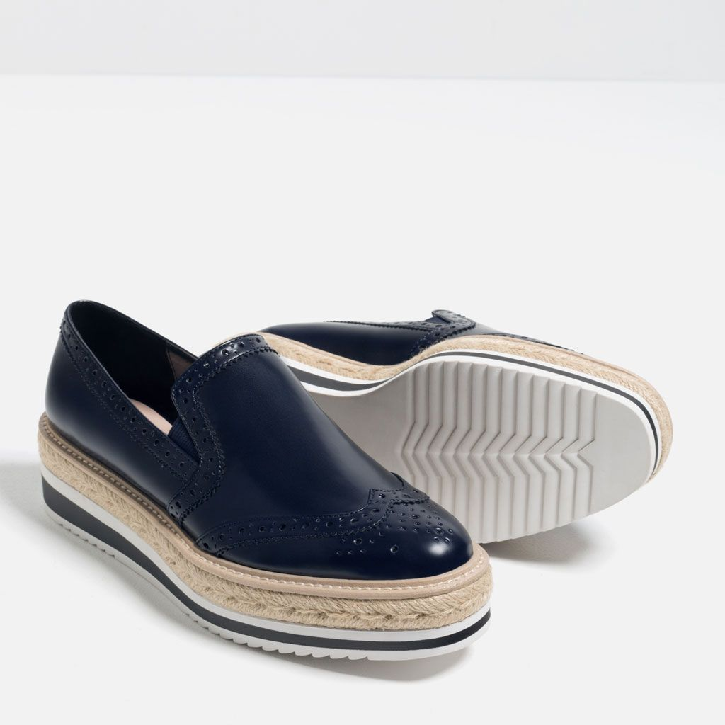 zara croc animal snakeskin metallic gold sneakers brogues 37 4