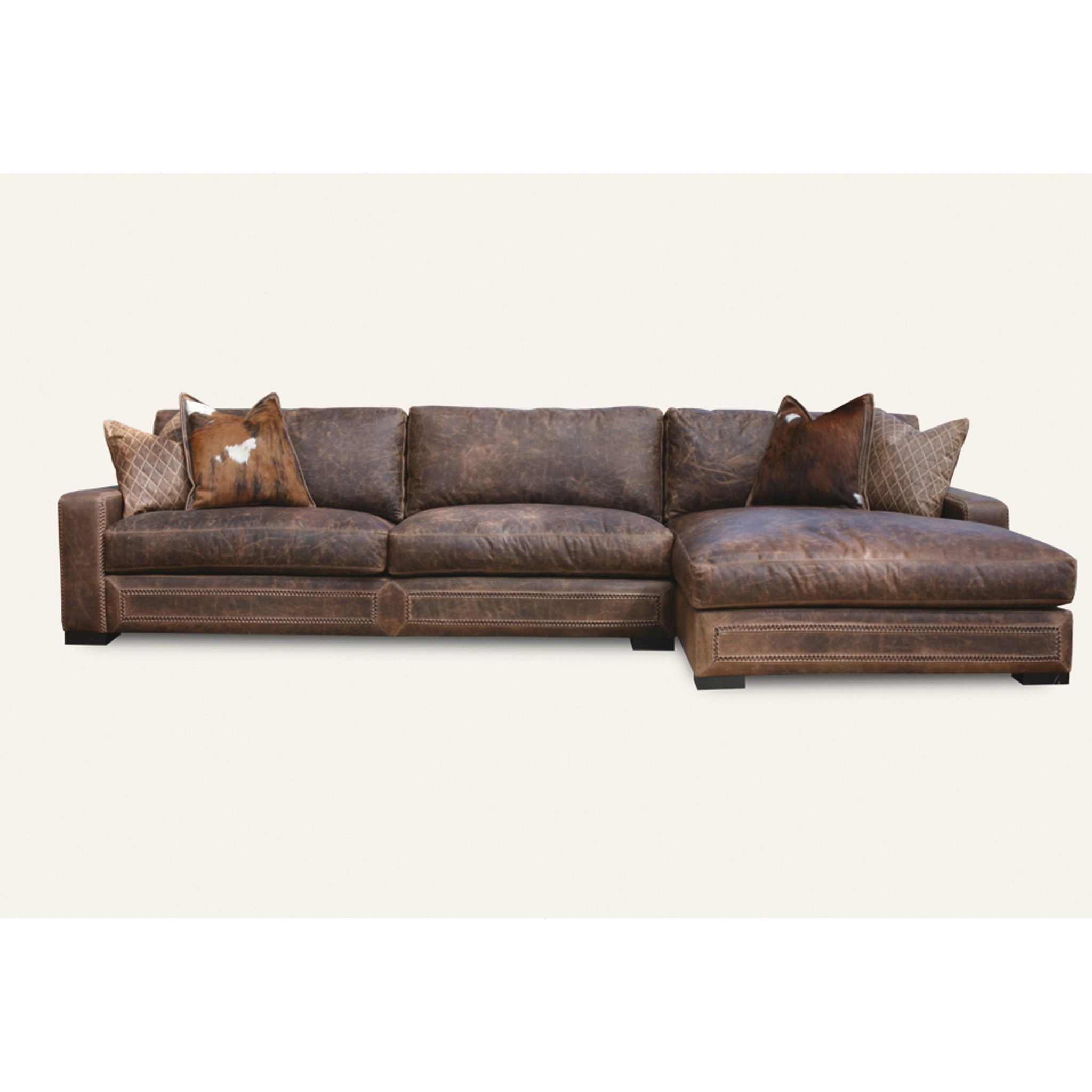 Downtown Cowboy Sectional Leather Couches For Sale Leather Sectional Sofas Leather Sleeper Sofa