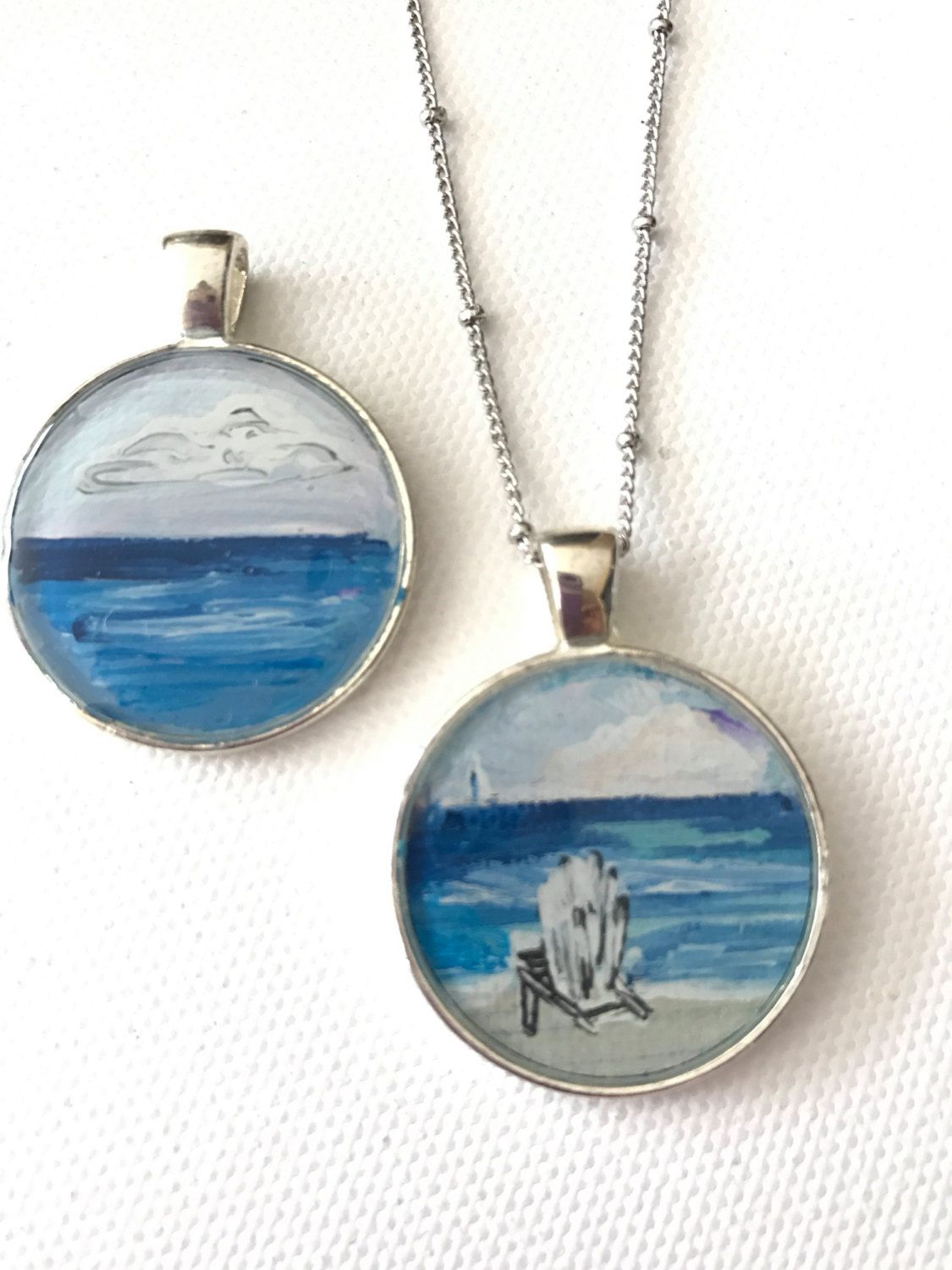 beach hut product pendants pendant by wimbush original necklace katewimbushjewellery kate silver jewellery