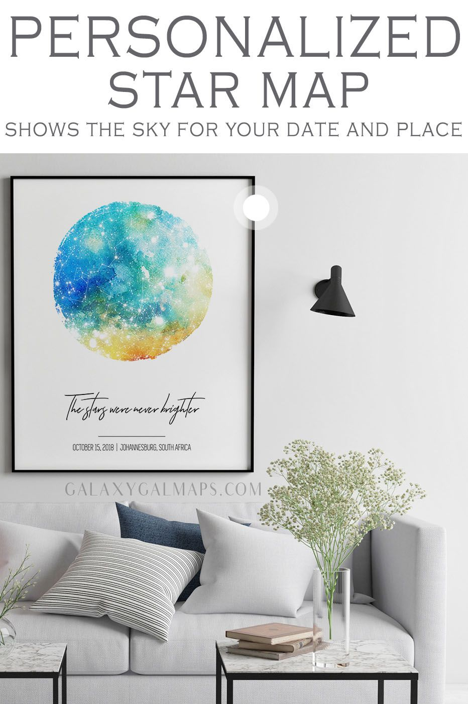 Your Custom Star Map By Date First Christmas Gift Personalized Jewelry Christmas Gift Pr Star Map Boyfriend Personalized Gifts Boyfriend Anniversary Gifts