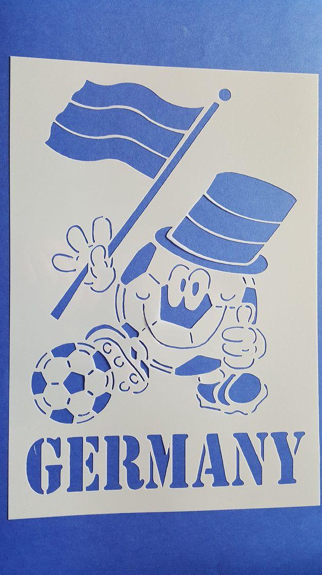 New  Motiv Schablone Fussball Wandbilder Wandtattoos