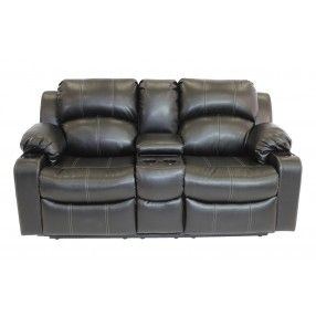 Coyotera Reclining Loveseat With Console Mor Furniture For Less