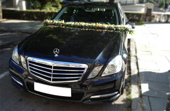 Black Mercedes E Class Rental With Driver For Wedding Day Luxury Car Rental Luxury Car Hire Car Rental