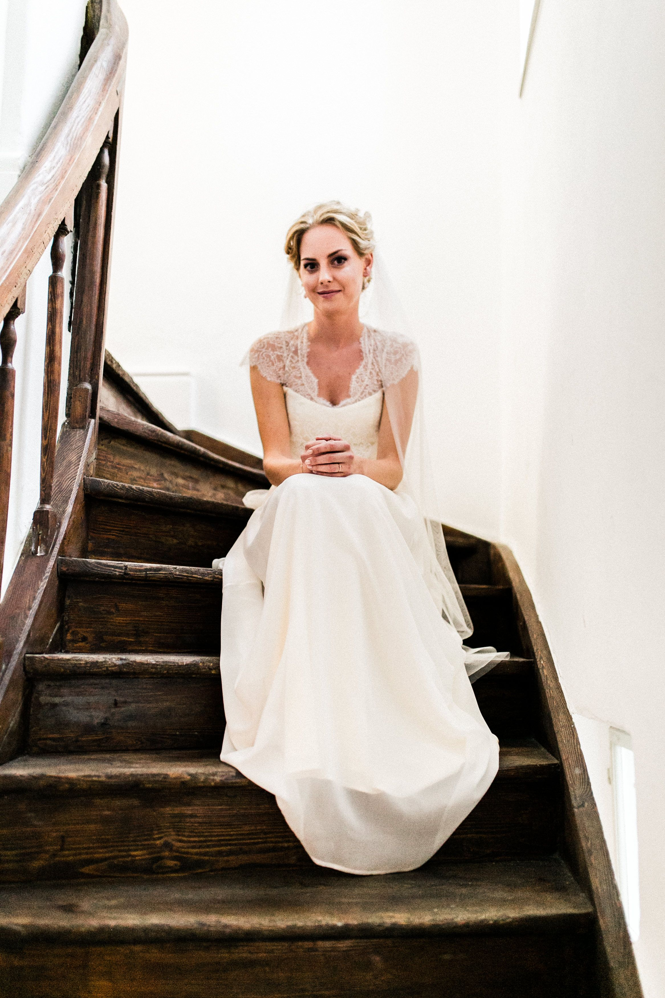DIY Hochzeit mit freier Trauung im Wasserschlssl bei