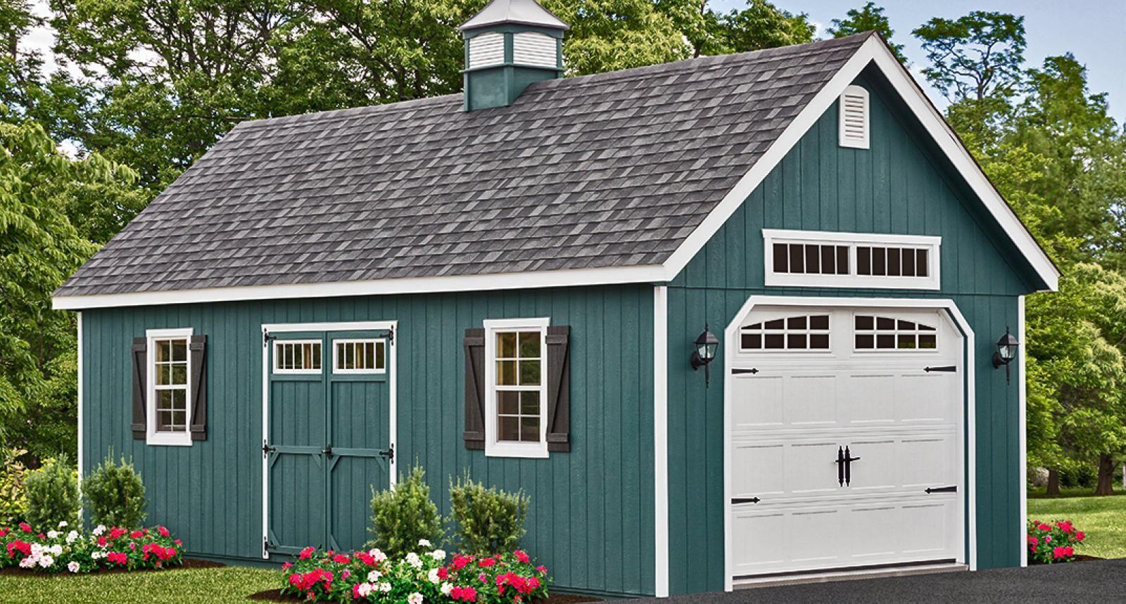 16x24 1 car garage 16x24g5d 384 sq ft excellent floor plans landscaping pinterest car garage garage plans and house - Garden Sheds Florida