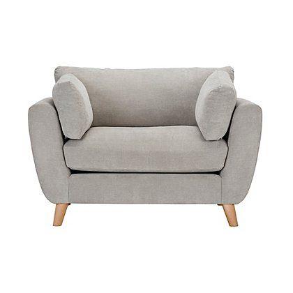 Glynn Love Seat - Soft Linear | Furniture | George | Love ...