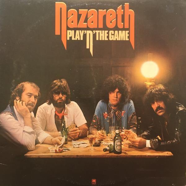 Nazareth Play N The Game 1976 Vinyl Lp Record Album