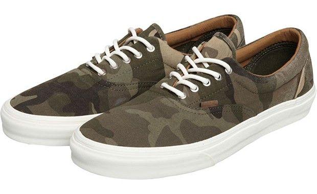Chaussures Era en toile camo de Vans #chaussure #vans #camouflage