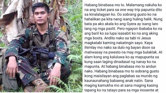 A Soldier farewell Letter to his beloved wife goes viral - http - farewell letter