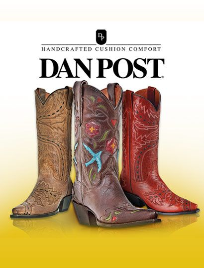 5fec64e433d Dan Post Men's, Women's, and Childrens Western Boots; I love my Dan ...